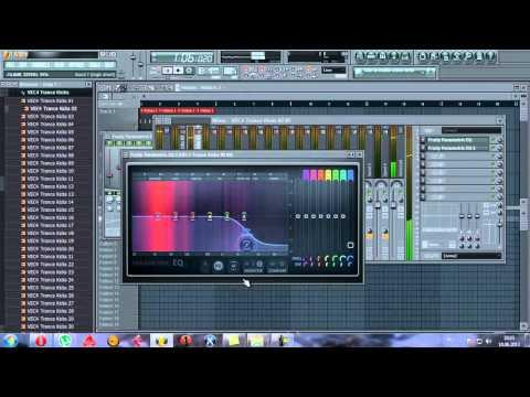 FL Studio 10 Uplifting Trance (Урок № 1. Создаём Kick & Bass)