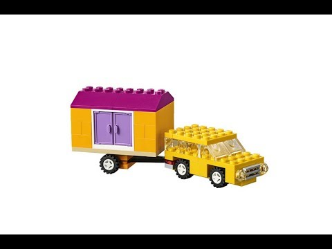 Camping Trailer (how to build) | LEGO CLASSIC 10715