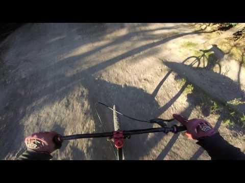 Walnut Creek Pump Track, inside line hip to outside to S-berm