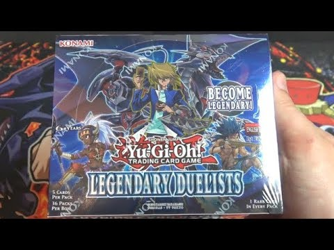 Yugioh Legendary Duelists Unboxing - New Red-Eyes Black Dragon Cards!