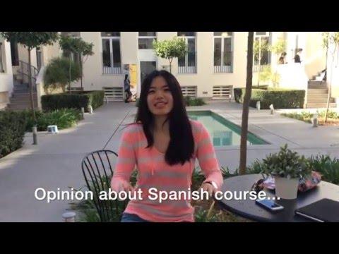 Opinión de nuestra alumna taiwanesa  - Maggie