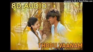 Anegan - Thodu Vaanam _ 8D Audio Songs _ Dhanush _ Harris Jayaraj _ Tamil 8D Songs