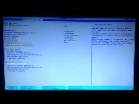 [TECHBLOG] Переустановка windows на HP-255 (hp legacy boot order)