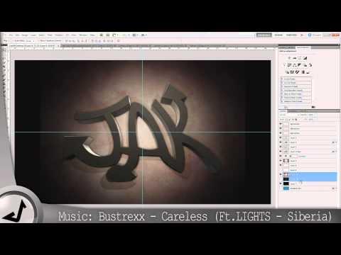 JakXDesigns Graffiti Desktop Background - Speed Art