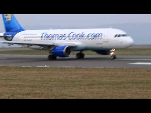 Thomas Cook A320 Departure for Bristol Airport.