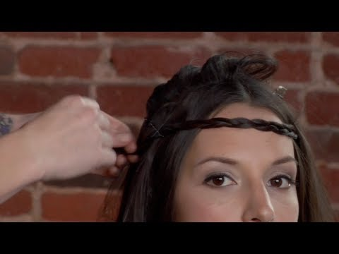 How To Make A Headband From Your Own Hair