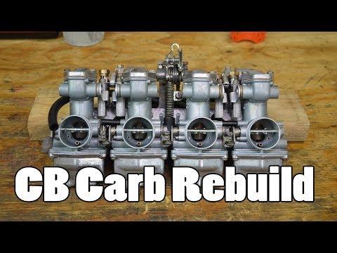 How-To: CB350 CB400 CB500 CB550 Carburetor Clean & Rebuild