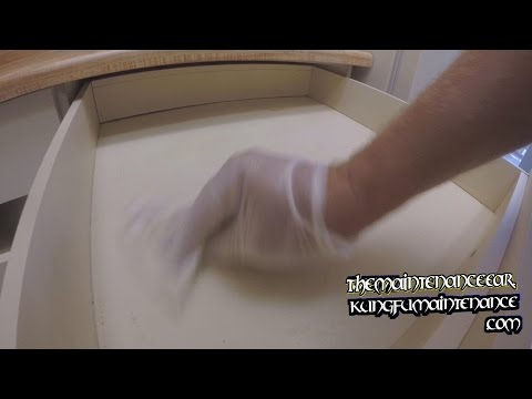 How To Remove Sticky Tacky Paper Residue From Cabinets Shelves Drawers Maintenance Repair Video