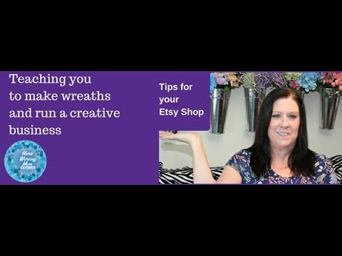 Tips for running an Etsy Shop What is important