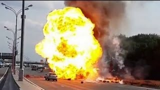 Propane cylinders - Explosion -HD-