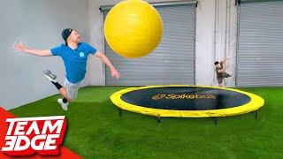 GIGANTIC Spikeball Challenge!!