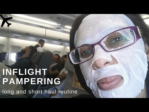 Inflight beauty routine   How to keep your skin hydrated on board