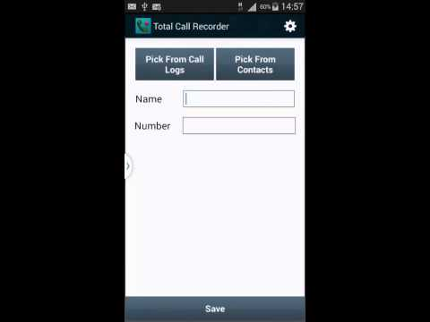 Total Call Recorder App Demo (New Version)