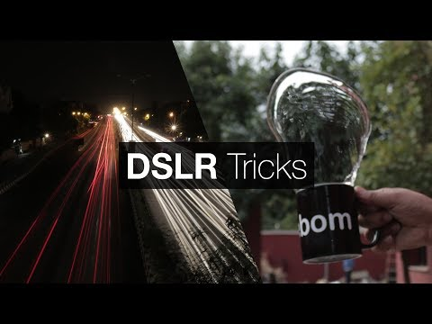 7 Cool DSLR Tricks for Beginners