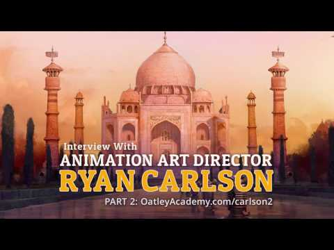 Interview with Animation Art Director Ryan Carlson (Part 2) :: ArtCast #101