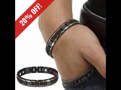 4in1 bio magnetic therapy bracelet