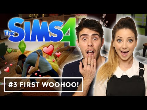 WooHoo For The First Time | Zalfie Sims 4 #3