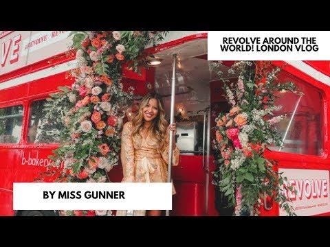 REVOLVE PARTY VLOG| REVOLVE IN LONDON! | MISS GUNNER