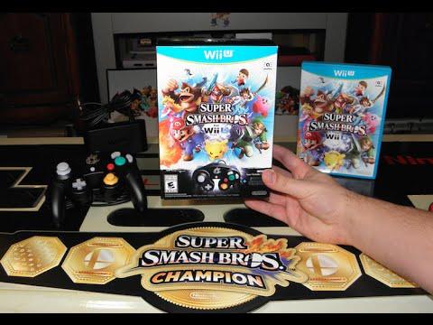 Super Smash Bros. for Wii U Controller Bundle Unboxing