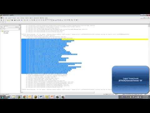 Thread dump analysis - HotSpot JVM - Java heap depletion