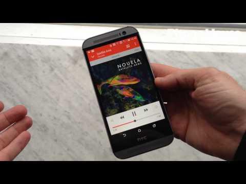 HTC One (M8) Boomsound för otroligt ljud