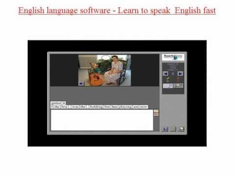 How to speak fluent english - Learning english free - English language learning software