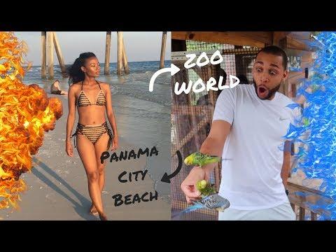 Panama City Beach Summer Vacation 🌴  ZooWorld   Jamilah and Marcel
