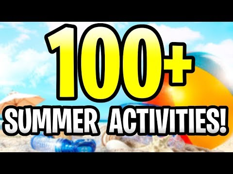 Minecraft: 100+ THINGS TO DO DURING SUMMER BREAK! PE, Xbox, Ps4 & Switch