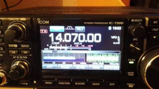 Typical Pactor Winlink Check with Icom IC-7300 | Music Jinni