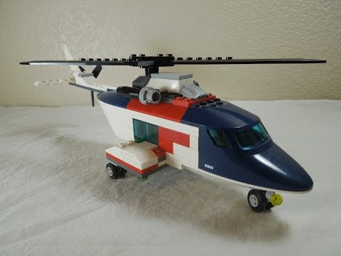 How To Make/Build A Lego Helicopter (2017 Update !)