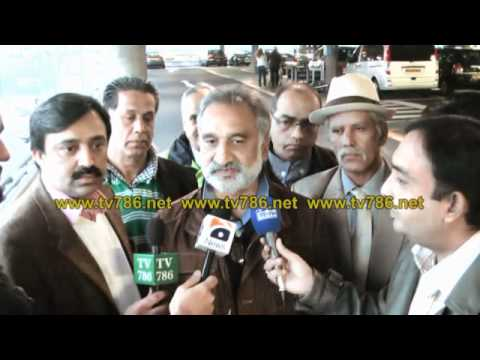 Media Briefing of Zulfiqar Mirza at London Heathrow Airport