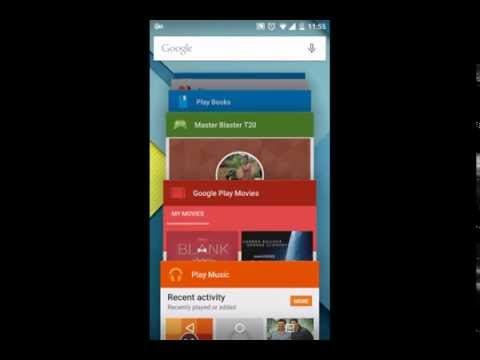 Android Lollipop 5.0 Firstlook on LG Google Nexus 5