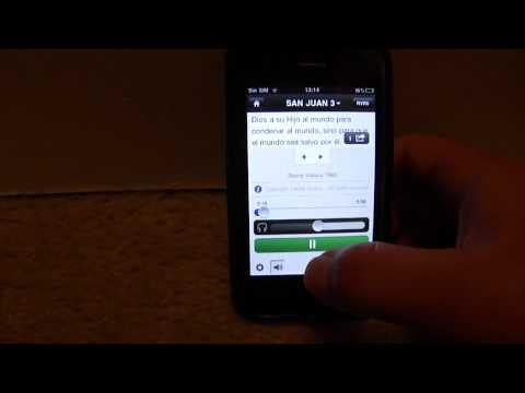 Biblia para ipad ipod iphone con audio