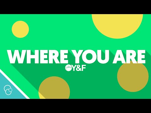 Hillsong Young & Free - Where You Are (Live) (Lyric Video) (4K)