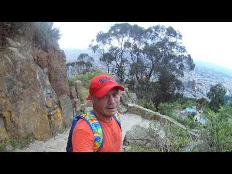 Turismo en Bogotá - Colombia - Subiendo a Monserrate por el nuevo sendero peatonal