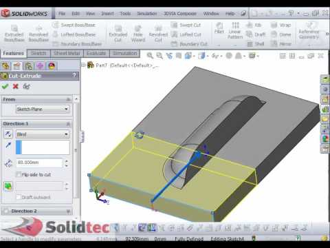 Custom Forming Tool in Solidworks