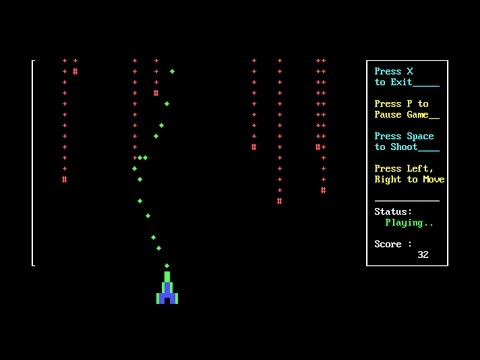 C++ Game Tutorial - Simple C++ Space Shooter Game - for Beginner to learn basics of game programming