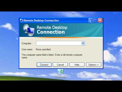 Windows XP - Remote Desktop