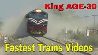 Pakistan Railways | Best fastest trains ever 2018 || Entertainment worldz