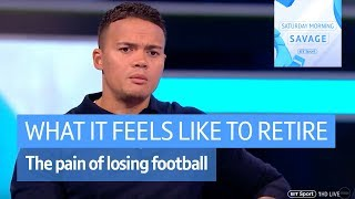 "Honest and emotional discussion | When footballers retire ""I thought I can"