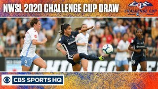 NWSL 2020 Challenge Cup Tournament Draw and Schedule  | CBS Sports HQ