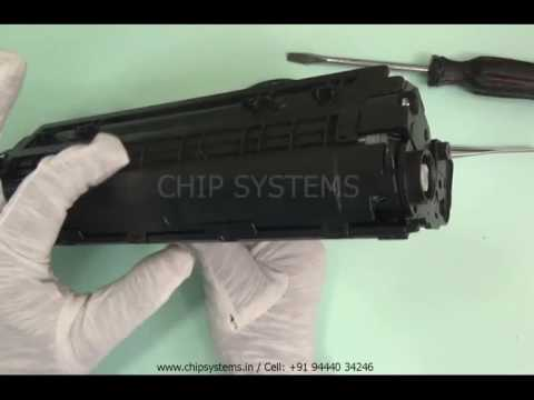 Online Refilling Training Class in Tamil (HP88A Toner Dismantling)