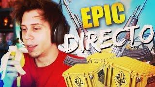 JUEGOS DEL HAMBRE, MI PLATANO Y CAJITAS EN DIRECTO   Epic Directo