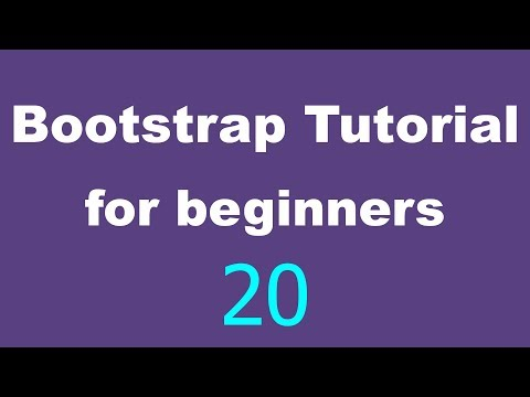 Bootstrap Tutorial for Beginners - 20 - Add search bar