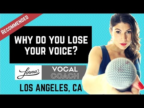 Why do you lose your voice after speaking or singing