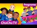 ChuChu TV Ovos Surpresa da Polícia - Episódio 03 - perseguição no trilho de ferro | ChuChu TV