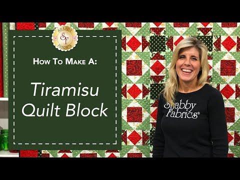 How to Make a Tiramisu Quilt Block | a Shabby Fabrics Quilting Tutorial