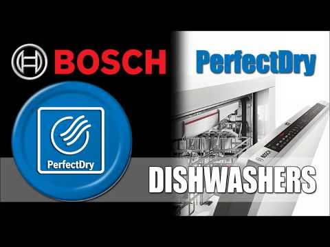 Bosch Perfect Dry Now Featured on Some Dishwashers