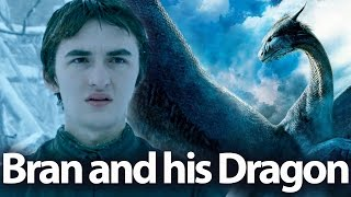 Bran and his dragon. Game of thrones season 8 theories