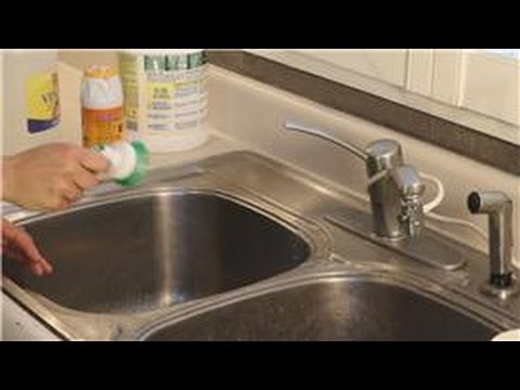 Kitchen Cleaning : How to Remove Rust Stains From a Faucet
